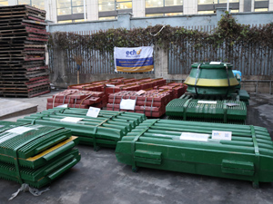Crusher Wear Parts for our Client Plant
