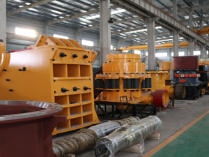 Jaw Crusher and Cone Crusher Semi-Finished Stock