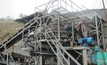 The Philippines 120TPH River Stone Crushing Line