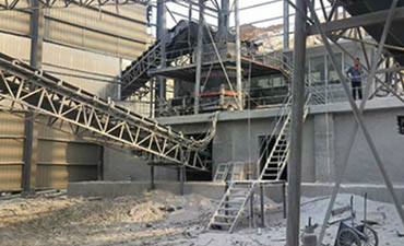 100-120t/h limestone sand production line100-120t/h limestone sand production line