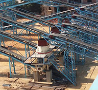 300TH to 400TH Stone Crushing Plant